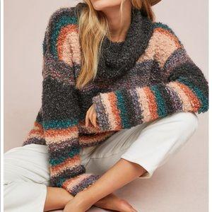 Anthropologie Moth Murray Turtleneck Sweater